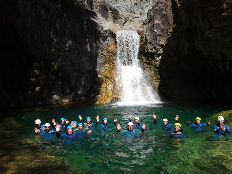 La cascade d'Escuain