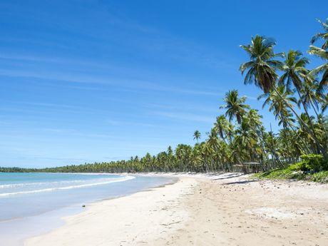 Plage déserte de l'île de Boipeba - Bahia