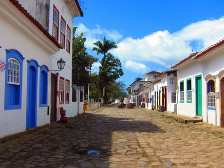 Centre historique de la ville coloniale de Paraty