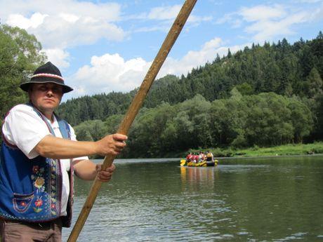 Rafting rivière Dunajec