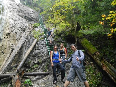 les canyons du Paradis Slovaque