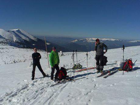 ski de randonnée Tatras Slovaquie