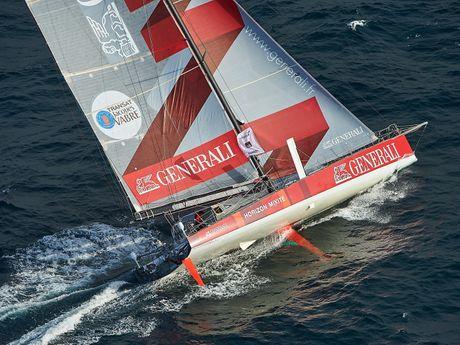 Naviguez à bord d'un bateau du Vendée Globe