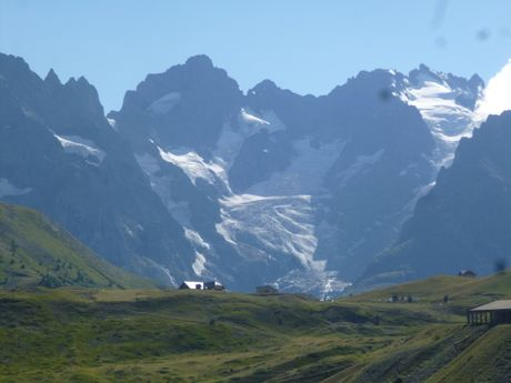 Rando au pied des glaciers