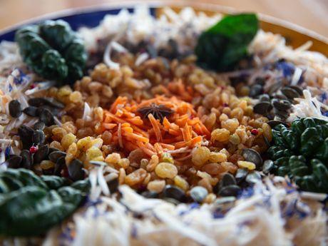 Végétariens, gourmands et colorés