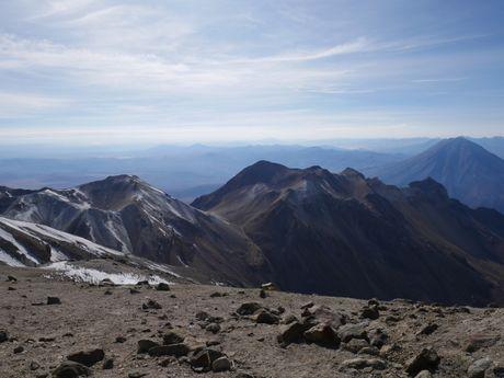 Ascension du volcan Chachani à plus de 6000m.