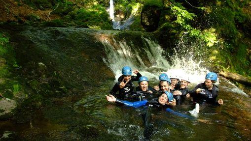Randonnée aquatique dans le canyon de l'Aspre-3