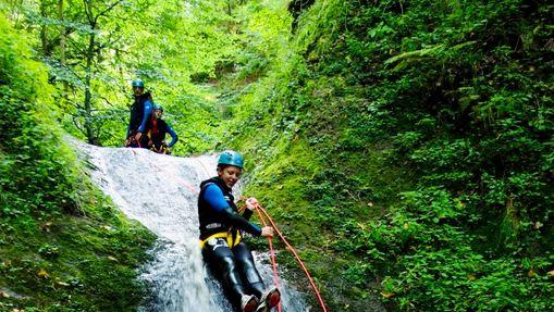 Journée de descente du fameux canyon d'Espinasse-4