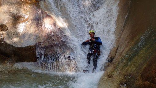 Demi-journée dans le canyon de Canceigt -6