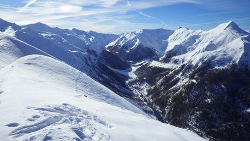 ski hors piste aux Orres-1