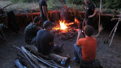 Stage de survie en pleine forêt périgourdine-2