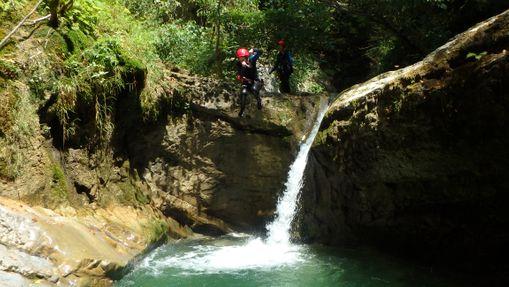 Intégral du canyon des Ecouges dans le Vercors-4