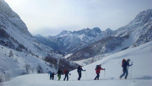 Semaine de ski de randonnée dans le Val Maïra-2