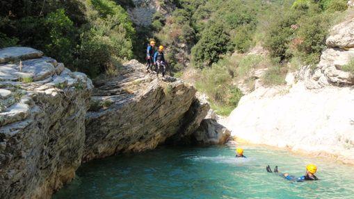 Canyoning Découverte : Cramassouri ou le Loup-1