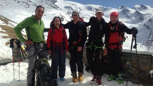 Raid à ski au Mont Rose-2