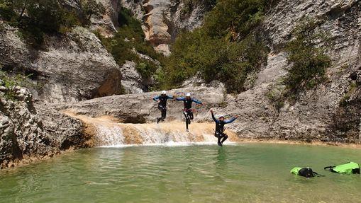 Canyoning en sierra de Guara-9
