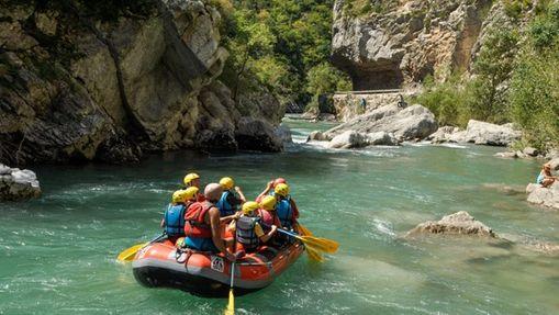 Journée Rafting dans les Gorges du Verdon-1