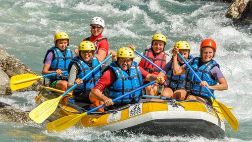 Rafting dans la Vallée du Var-3