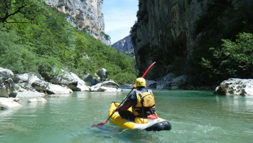 Journée Canoë-kayak sur le Grand Canyon du Verdon-1