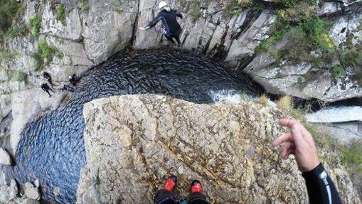 Canyoning sensations dans le Canyon du Llech-3