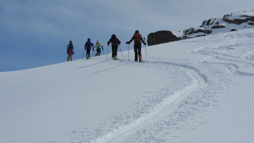 initiation au ski de randonnée sur 3 jours-1