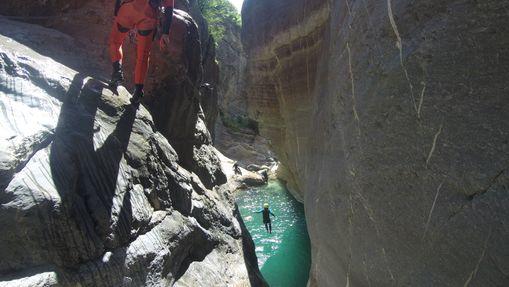 séjour canyoning sierra de Guara-1