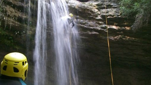 Descente du Canyon Tréfond-Pernaz-1