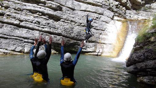Demi-journée découverte au Canyon de Rabou-7