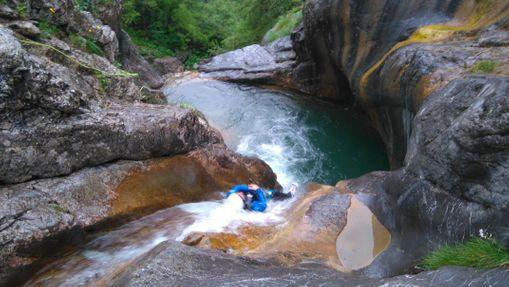 Canyon d'Ancelle dans le Parc National des Ecrins-3