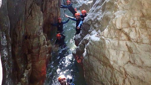 Descente sensation du Canyon du Pont du Diable-8