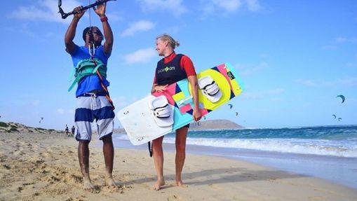 Stage de kitesurf pour débutants au Cap-Vert-1