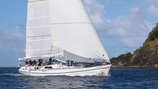 Transatlantique Lorient - Ste Lucie en Chal 67