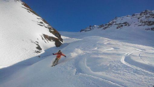 Journée de ski hors-piste à Paradiski-3