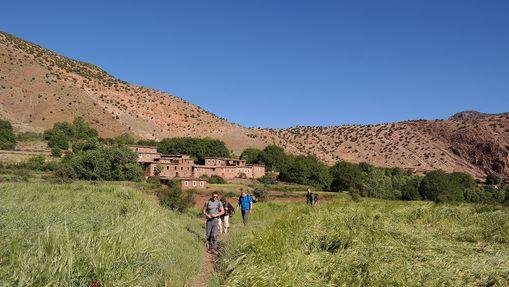 Trek et survie dans le Haut-Atlas marocain-2