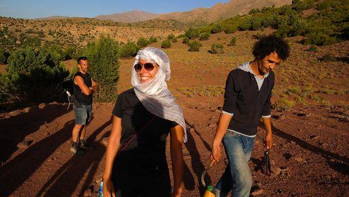 Trek et survie dans le Haut-Atlas marocain-8