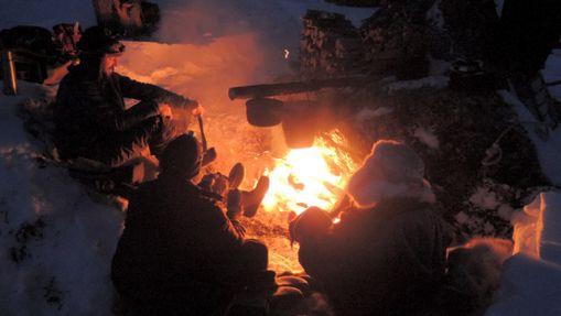 Raid à ski ou raquettes dans la réserve de Kevo-2