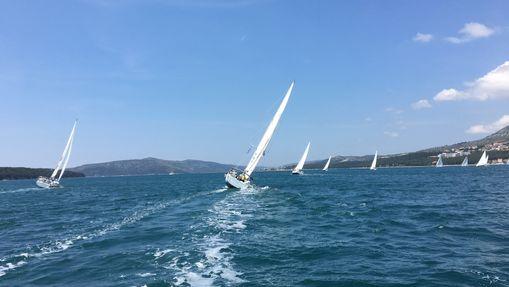 Une semaine de course/croisière en mai en Croatie