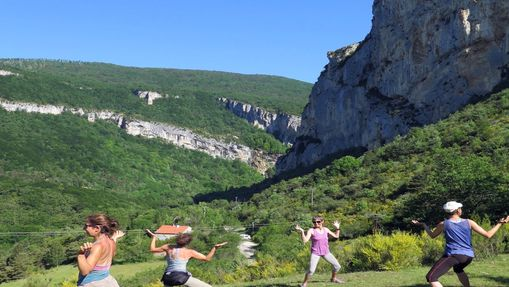 Week-end yoga et escalade au Lac d'Annecy -9