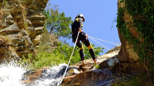 Stage canyoning dans le Tessin suisse-2