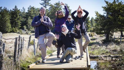 Yoga et randonnée St Jacques de Compostelle-1