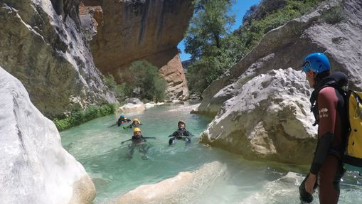 Séjour canyoning en Sierra de Guara-2