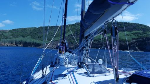 Voile-rando & cétacés aux Açores-1