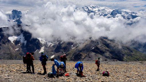 Sky-running à l'Arête du Genévrier au Mont Buet-11