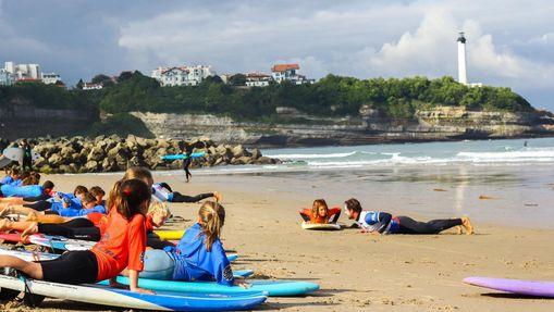 Stage de Surf à Anglet-1