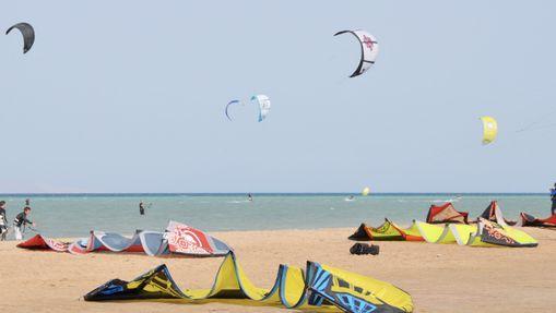 Cours de kitesurf dans la région d'Hurghada-10