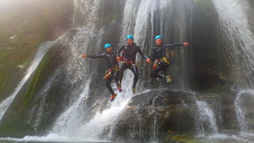Sortie Canyoning/ Spéléologie - Acrogrotte