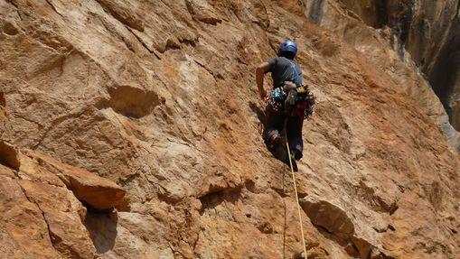 Stage d'escalade à la Noguera (Catalogne)