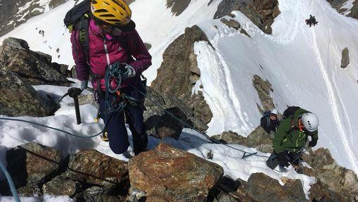 Stage d'alpinisme  & apprentissage dans les Ecrins