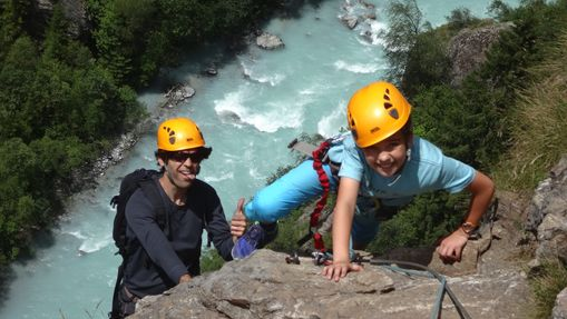Via Ferrata de Saint-Christophe en Oisans-4