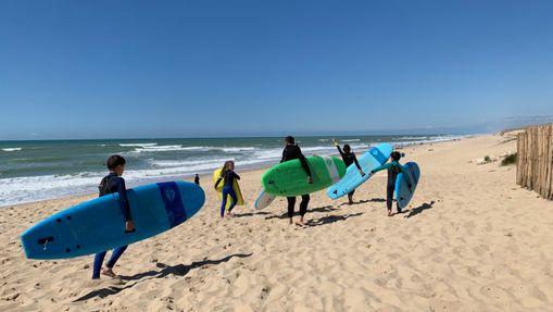 Séjour en Surf Camp Ados à Lacanau Océan (12/17)
